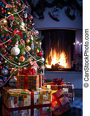 baum, weihnachtsgeschenk