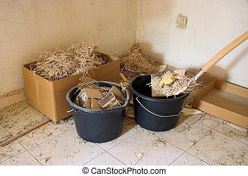 Bauschutt - construction waste 04