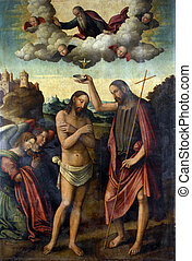 bautismo, cristo