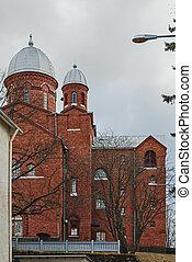 bautista, church.