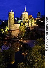 Bautzen at night