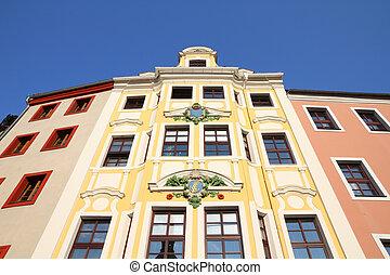 Bautzen (Budysin) - town in Saxony region, Germany. Old town view.