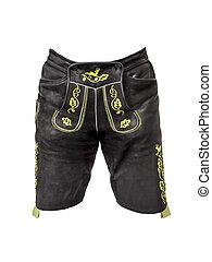 bavarese, tradizione, pantaloni cuoio
