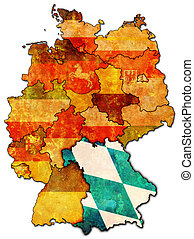 Bavaria and other german provinces(states)