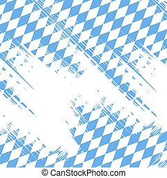 Bavaria flag colors abstract background. Vector illustration.