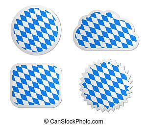 Bavaria flag labels