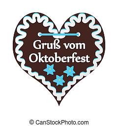 Bavaria heart cookie - heart cookie