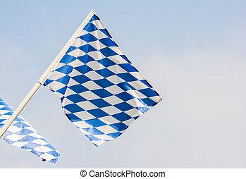 bavarian, 旗, 吹乘風