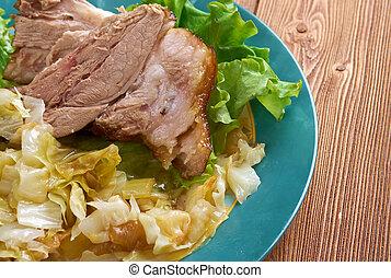Bavarian grilled knuckel of pork - German Pork Hocks