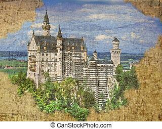 bavière, castle., neuschwanstein