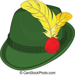 bavière, chapeau