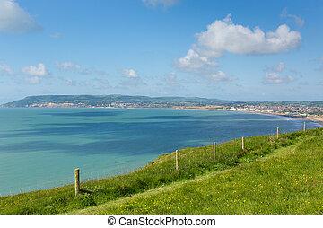 Bay and coastline Isle of Wight - Bay and coastline Shanklin...