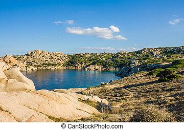 Bay at Capo Testa, Sardinia, Italy