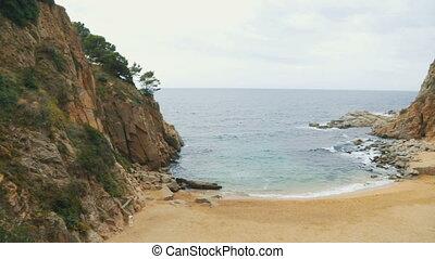 Bay, coast of Catalonia, Spain