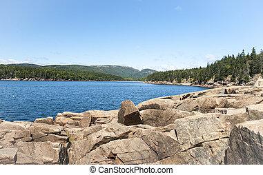 Bay in Acadia National Park