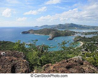 Bay in Antigua