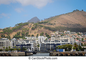 Bay in Cape Town city