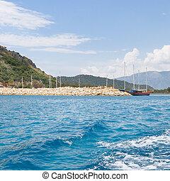 bay in the mediterranean