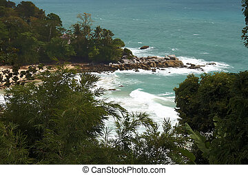 Bay near Kamala Beach.