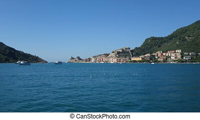 Bay of Portovenere in Northern Italy