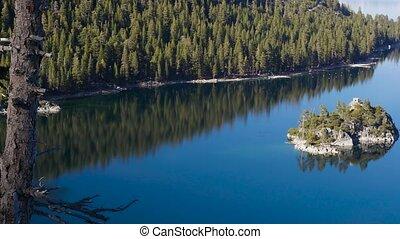 Bay of the Lake Tahoe
