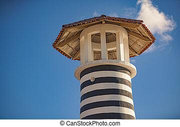 Bayahibe Lighthouse detail