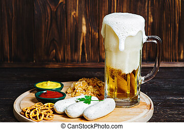 bayersk, korvar, öl