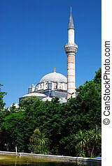 Bayezid Mosque in Istanbul, Turkey