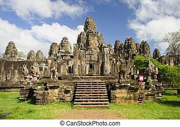 bayon の寺院, カンボジア