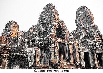 bayon の寺院