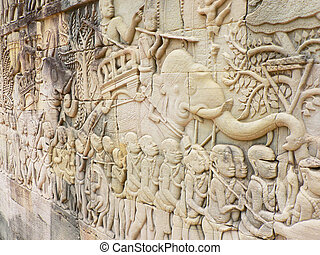 Bayon, templo, camboya