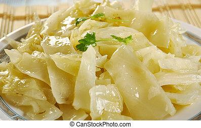 Bayrisch Kraut - Bavarian cabbage, shredded cabbage that is ...