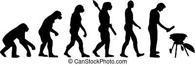 bbq, 演化