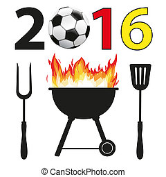 BBQ 2016 Football Germany