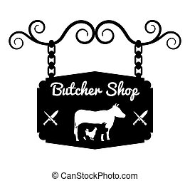 Bbq and butchery theme design, vector illustration graphic...
