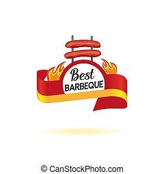 BBQ badge icon