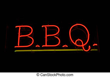 BBQ Barbecue Neon Sign