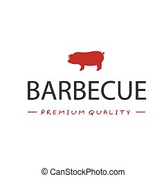 BBQ Barbecue Premium Quality Vector Image