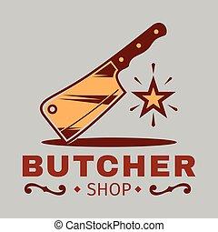 BBQ Burcher Logo Vector Image