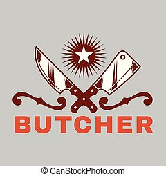 BBQ Butcher Vector Image