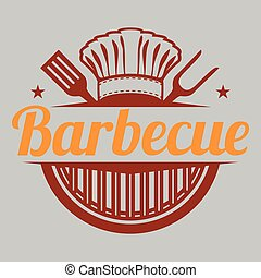 BBQ Chef Barbecue Vector Image