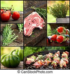 BBQ collage