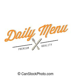BBQ Daily Menu premium Quality Vector Image