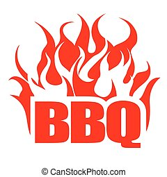 BBQ design template