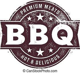BBQ Food Stamp