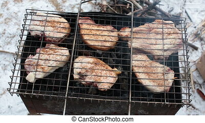 BBQ - Grill cooked on mongale