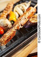 bbq., -, grill, mad