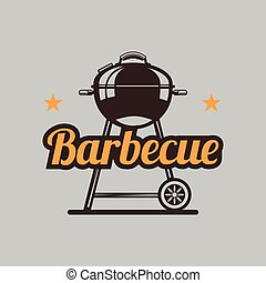 BBQ Grilled Barbecue Vector Image