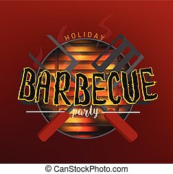 BBQ party banners