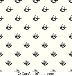 Bbq party pattern seamless vector